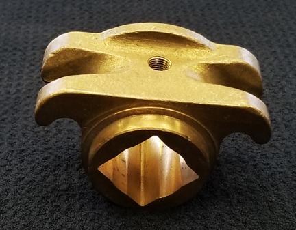 Finished Manganese Bronze Arm Casting